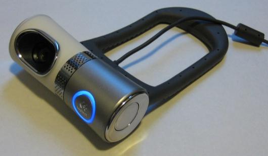 De Logitech QuickCam Ultra Vision in zijn geheel