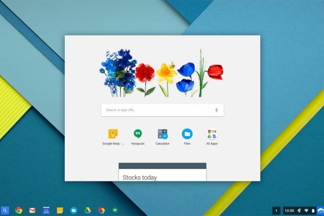 Chrome OS Google Now
