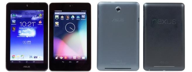Asus MeMO Pad HD 7 en de Nexus 7
