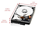 WD Red SATA 6 Gb/s WD30EFRX, 3TB