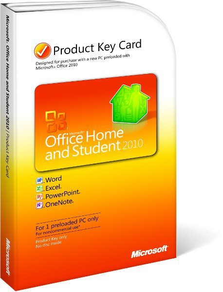 Microsoft Office Home and Student 2010 PKC NL