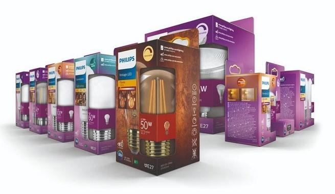 Philips Hue duurzame verpakkingen
