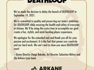Deathloop-uitstel