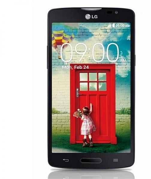 LG Optimus L80 Black Wit, Zwart