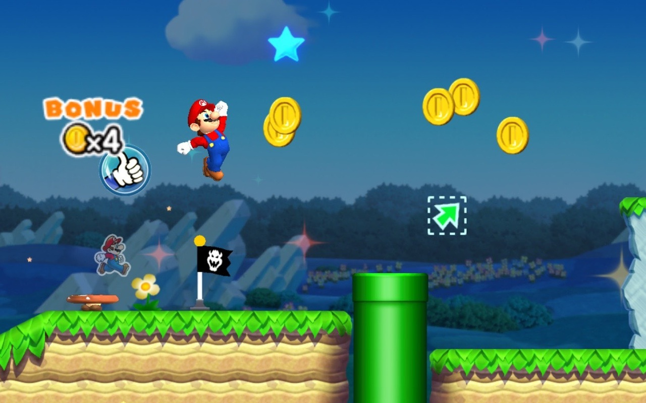 Super Mario Run voor iOS
