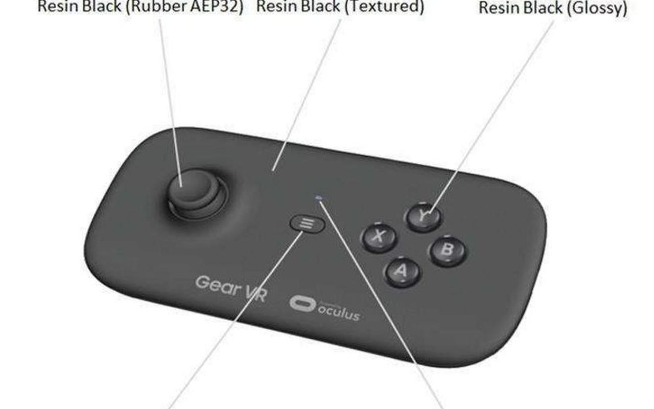 Mogelijke Samsung Gear VR-controller