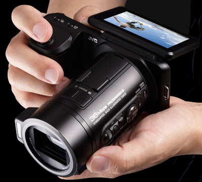 JVC GC-PX10 hybride foto-videocamera