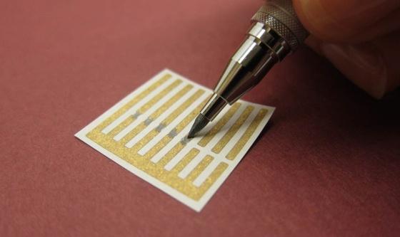 Getekende nanobuis-sensor