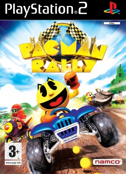 Pac-Man - World Rally, PlayStation 2