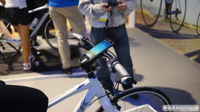 Samsung-fietslader