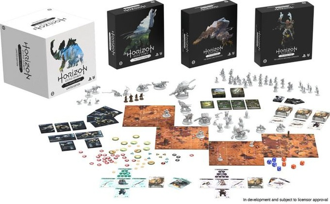 Horizon Zero Dawn-bordspel