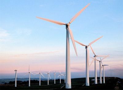 Energieopslag voor windmolenparken