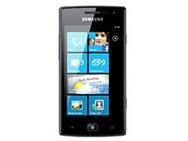 Samsung Omnia W i8350 Zwart