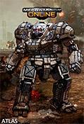 MechWarrior Online art - Atlas