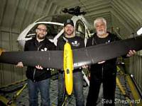 Drone van Sea Shepherd