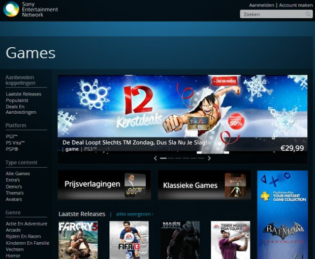 Sony Entertainment Network Games