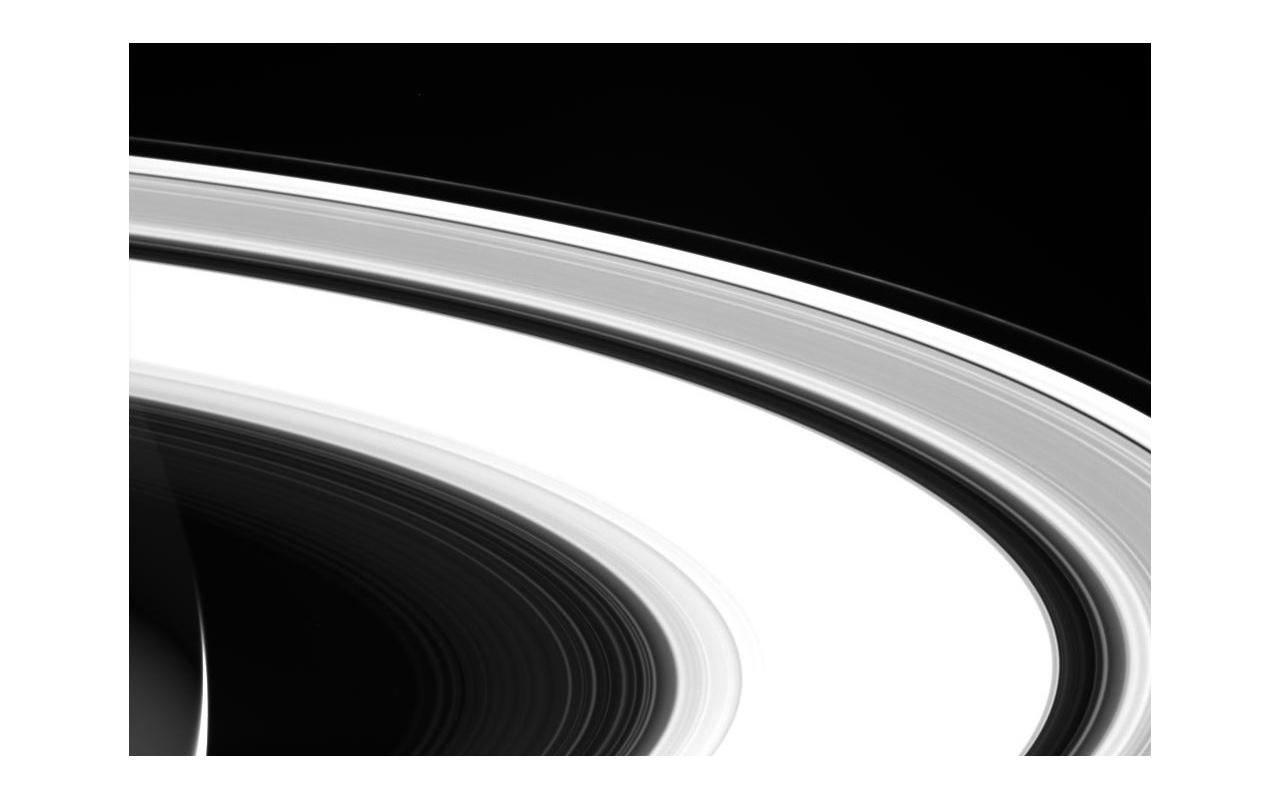 Cassini laatste foto's Saturnus