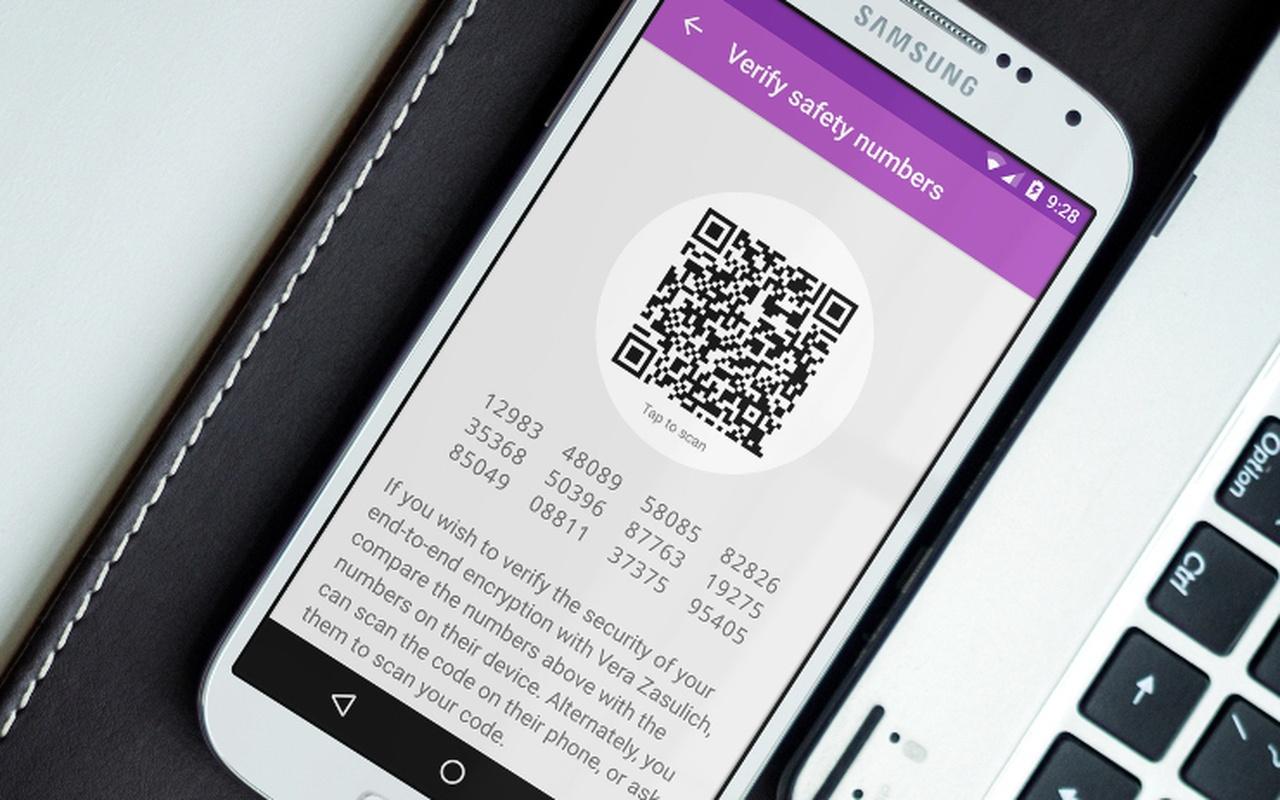 Signal krijgt zelfvernietigende berichten en qr-codes voor verificatie
