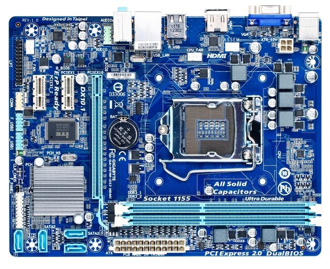 Gigabyte H61M-DS2 HDMI