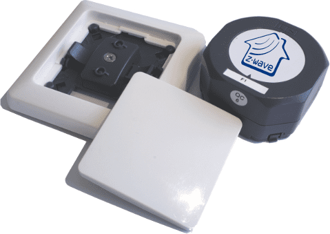 Z-wave.me Dimmer set in Duwi Everlux