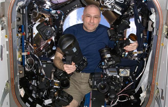 Nikon-camear's in de ruimte