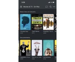 Plex streaming iOS