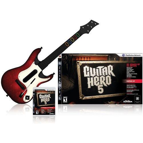 Guitar Hero 5, PlayStation 3