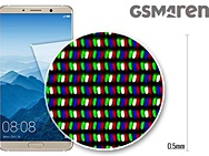 GSMArena: subpixels Huawei Mate 10