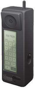 Misschien wel de eerste smartphone ooit: IBM Simon uit 1993
