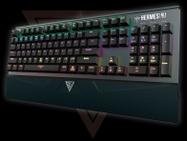 Gamdias Hermes M1 Mechanical keyboard 7-Color Brown US