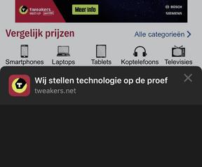 iOS 13: Deel-menu