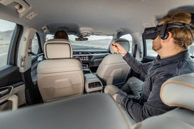 Audi vr-bril E-Tron