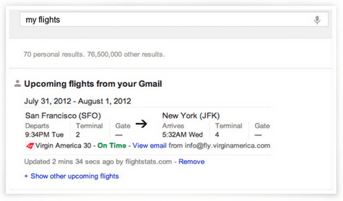 Google My Flights