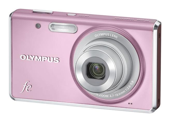 Olympus FE-4040 Roze
