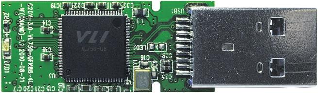 VIA flashdrive met VL750-controller