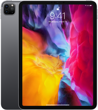 Apple iPad iPad Pro 2020 11 WiFi 128GB Space grey Zwart