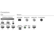 Philips OLED 8 series 55OLED804 Zwart Zwart