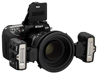 Nikon SB-R1 Macro Speedlight (10-20m @ ISO100,, i/D-TTL, 2xCR123A)