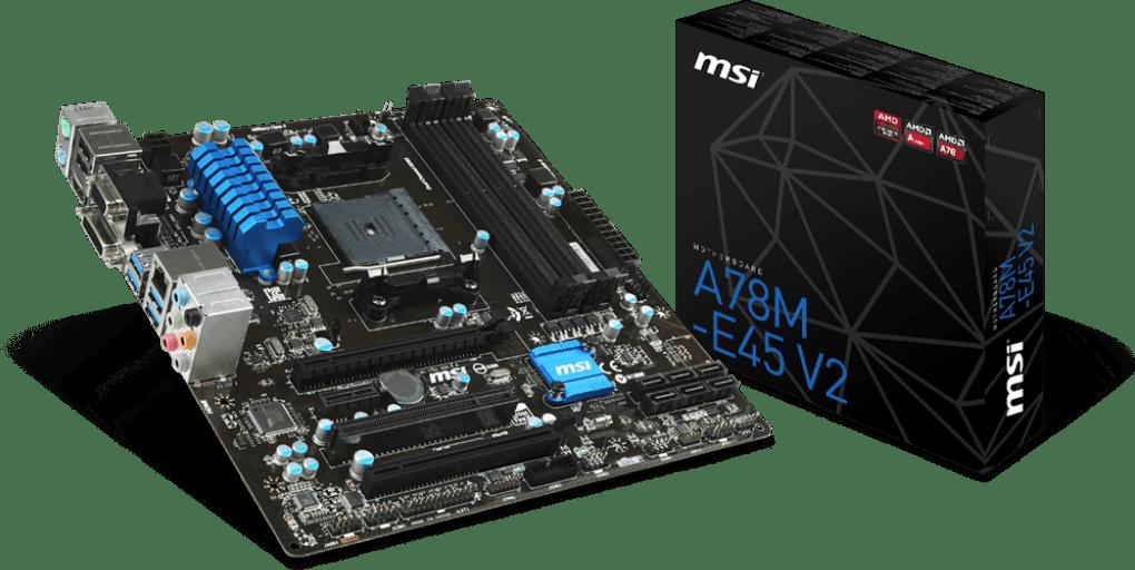MSI A78M-E45 V2 - Alternatieven - Tweakers