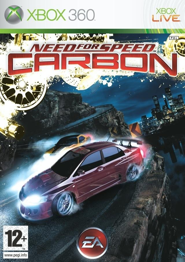 Packshot voor Need for Speed Carbon