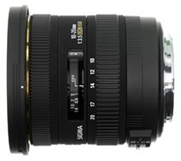 Sigma 10-20mm f/3.5 EX DC HSM (Canon)