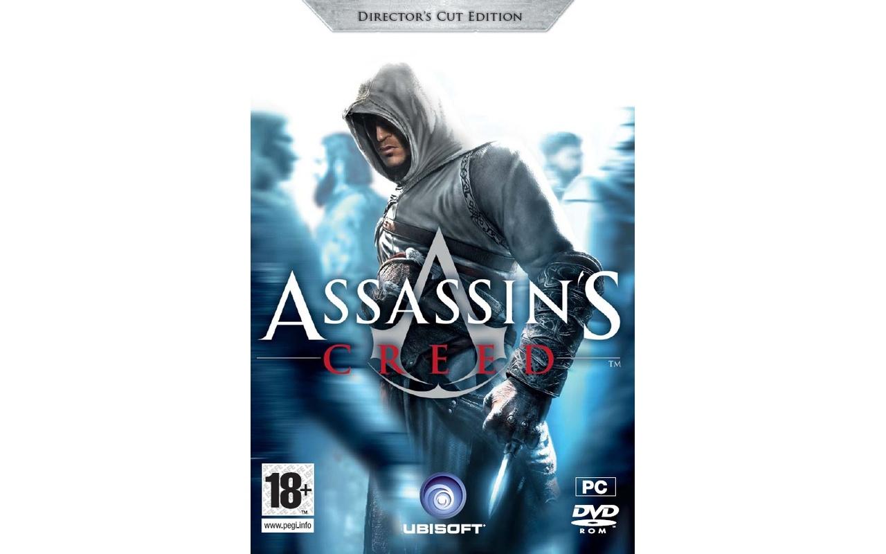 Packshot voor Assassin's Creed