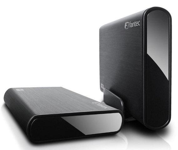 Fantec DB-ALU3  2TB Zwart