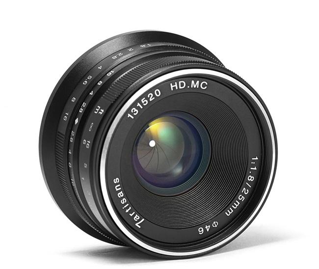 7Artisans 25mm f/1.8 (Sony E-Mount)