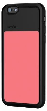 Lumdoo Apple iPhone 6 Duo Cover Black/Pink