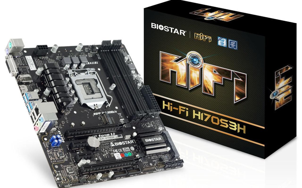 Biostar  Hi-Fi H170S3H