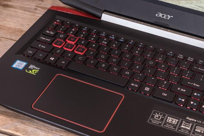 Acer Aspire VX-591G toetsenbord