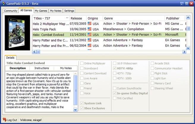 GamePadz 0.5.2 beta (groot)