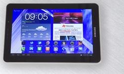 Samsung Galaxy Tab 7.7: een aparte amoled