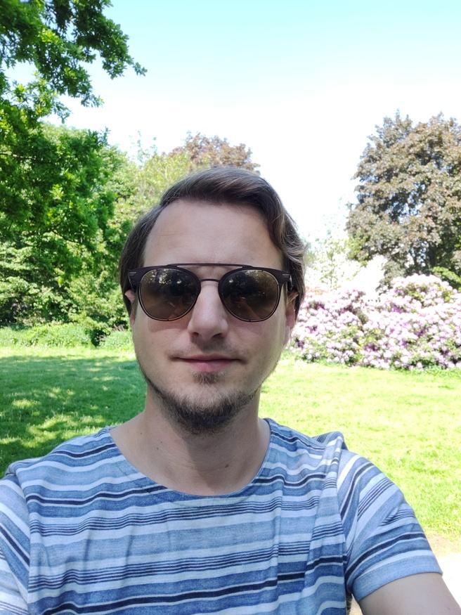 Selfie OnePlus 6